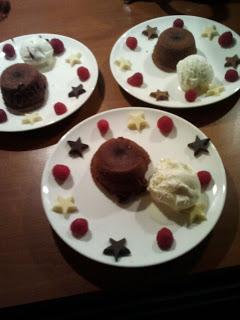 Moelleux au chocolat – Kerstmis 2011