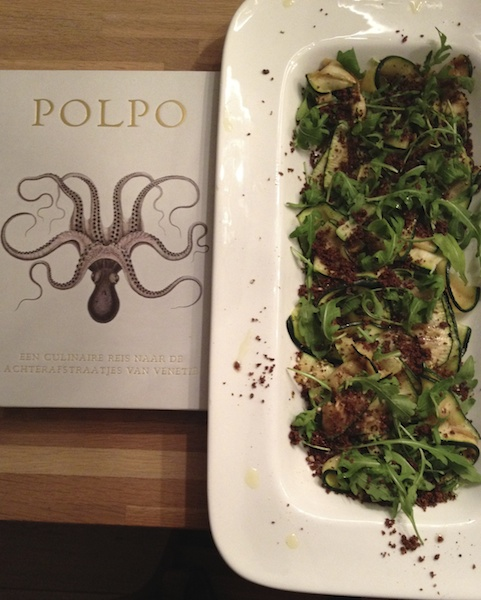 Salade van gegrilde courgettes – Kookboek van het Jaar 2013