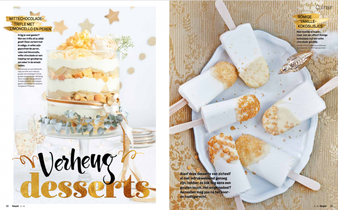 Feestelijke desserts