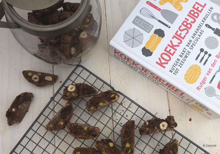 Chocolade-pistachecantuccini